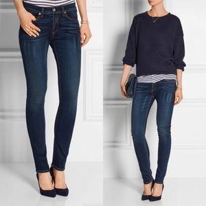Rag & Bone Skinny Jeans Woodford Wash 29